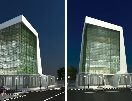 ساختمان اداری تجاری گاندی