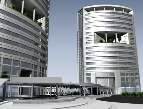 ساختمان اداری حافظ ( مسابقه )