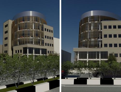 ساختمان اداری پاریزان صنعت