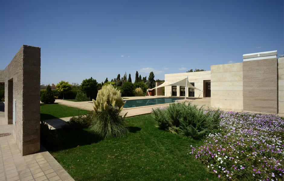 خانه باغ یزد   گروه معماری کلیاس کویر
