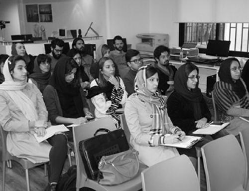جلسه نقد و بررسی آثار دانشجویان سومین ورکشاپ کلیاس